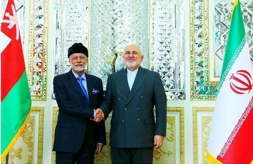 ملاقات بن علوی با وزیر امور خارجه ایران