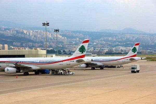 تکذیب توقف پروازها در فرودگاه بیروت، بازداشت شماری از معترضان