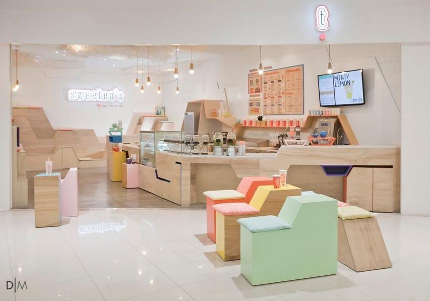 طراحی دکوراسیون داخلی یک کافه فیلیپینی