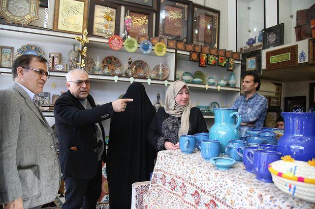 نمایشگاه صنایع دستی و گردشگری قم در نجف برپا می گردد