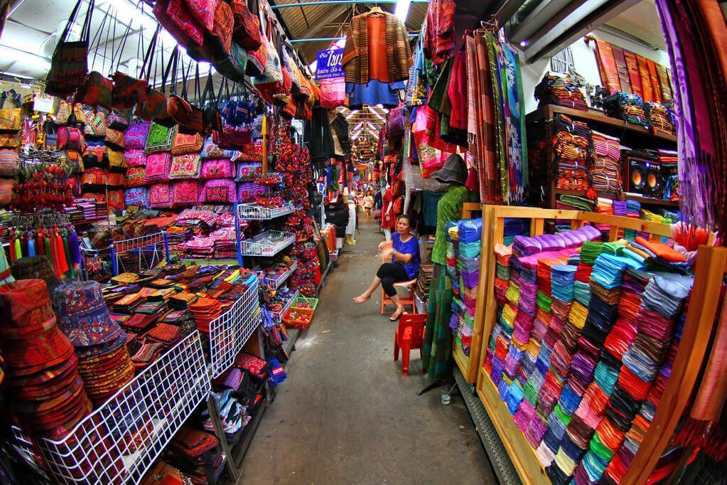 بازار آخر هفته چاتوچاک در تایلند