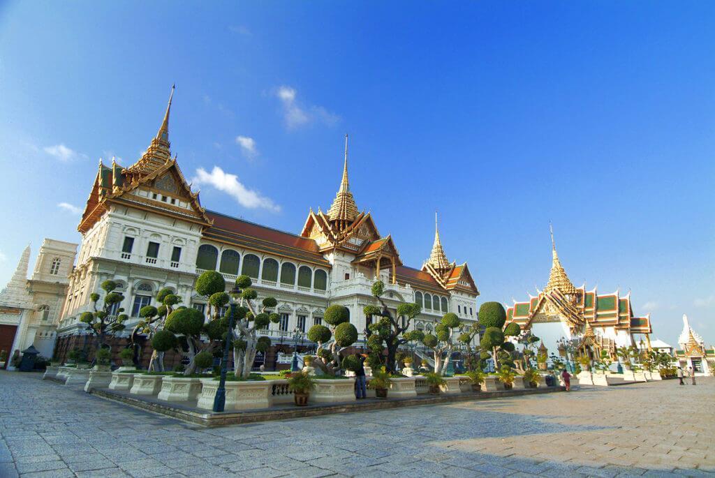 بازدید از قصر بزرگ در تایلند