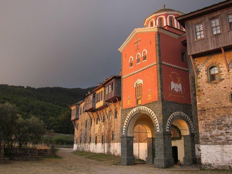 مونت اتوث قلعه ای در یونان