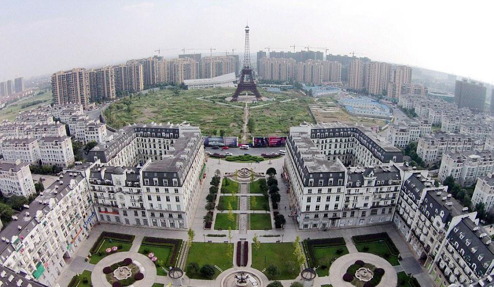 آثار کپی شده مشهور جهان در کشور چین
