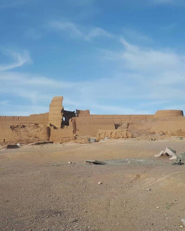 قلعه ساسانی کرشاهی را ناقص کردند