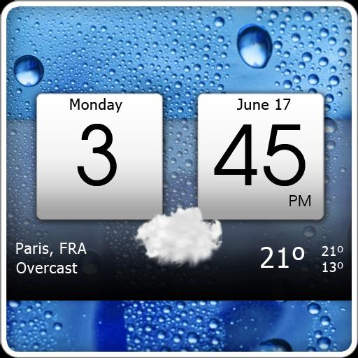 دانلود Digital clock &amp world weather Premium v5.72.0.2 ویجت آب و هوا و ساعت دیجیتالی