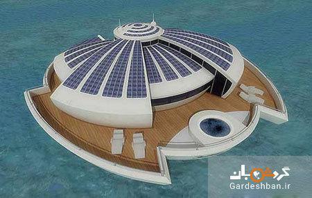 تجربه زندگی دریایی در هتل شناور خورشیدی ایتالیا