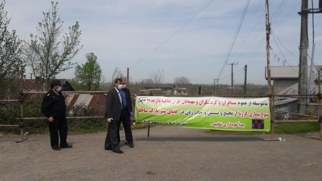 خبرنگاران مناطق گردشگری آستانه اشرفیه در روز طبیعت خلوت و همکاری مردم مطلوب بود