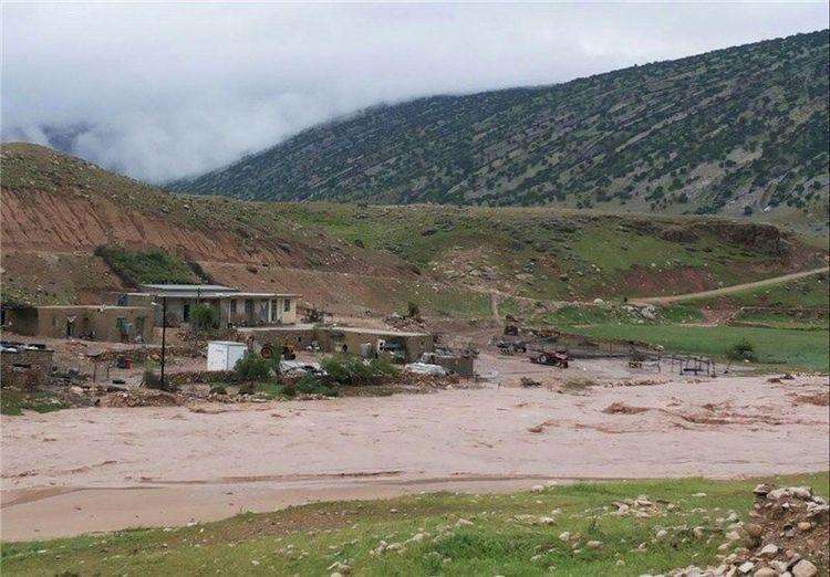خسارت سیل به 400 خانه در گلستان