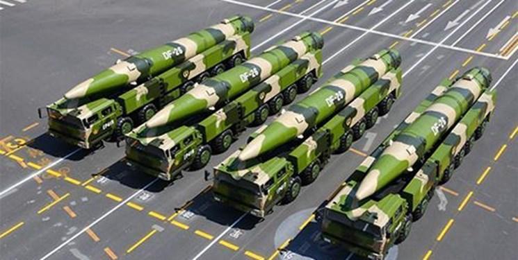 ناوهای آمریکا در تیررس موشکهای دانگ فنگ ارتش چین قرار دارند