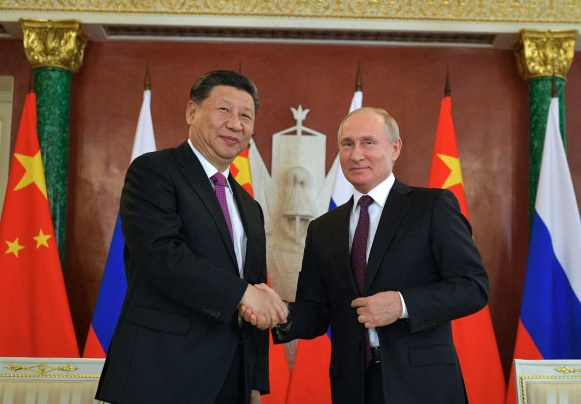پوتین: روابط روسیه و چین به سطح بی سابقه ای رسیده است