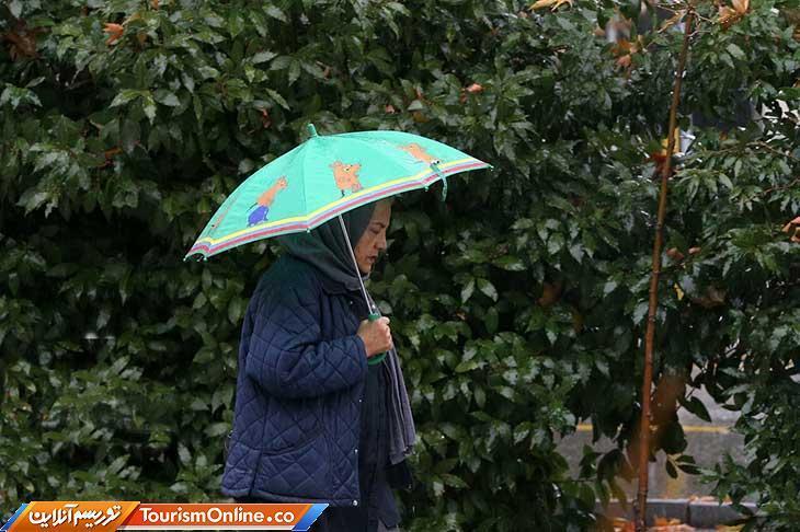 باران تابستانه در بیشتر استان ها می بارد