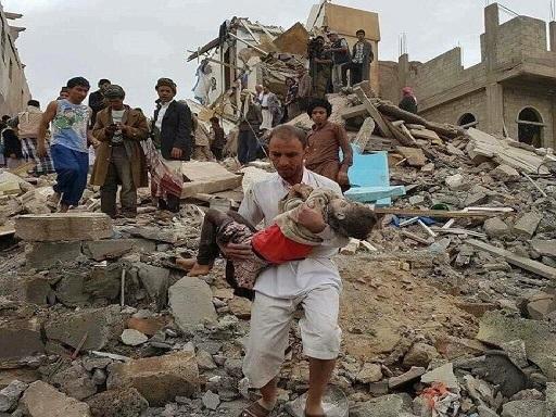 کشته شدن 20 غیر نظامی یمنی در حمله ائتلاف سعودی