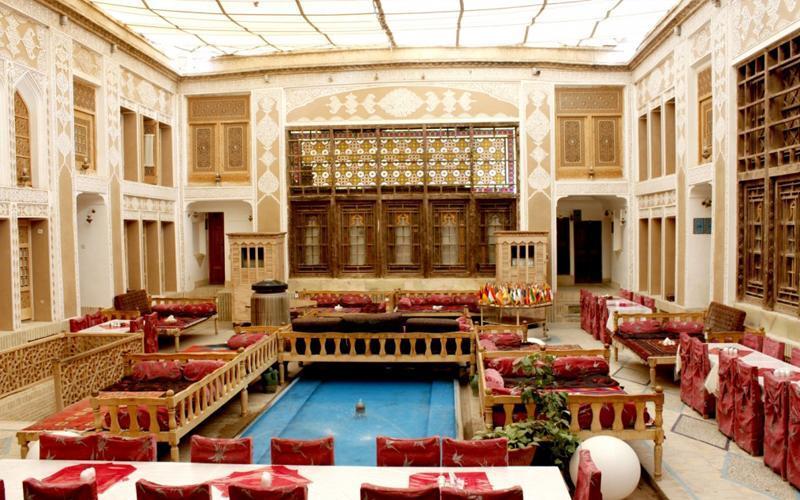 هتل 4 ستاره ملک التجار از هتل های جذاب و تاریخی یزد، تصاویر