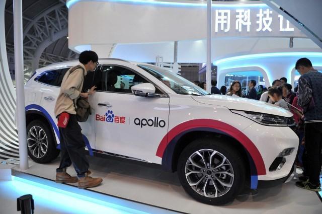 چینی ها فناوری خودروهای خودران را توسعه می دهند