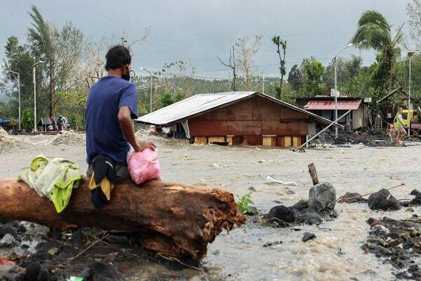 توفان گونی در فیلیپین 10 کشته و 390 هزار بی خانمان برجای گذاشت