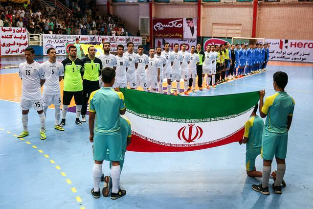 مصاف رقبای سنتی فوتسال آسیا، ناکامی مطلق ازبکستان مقابل ایران