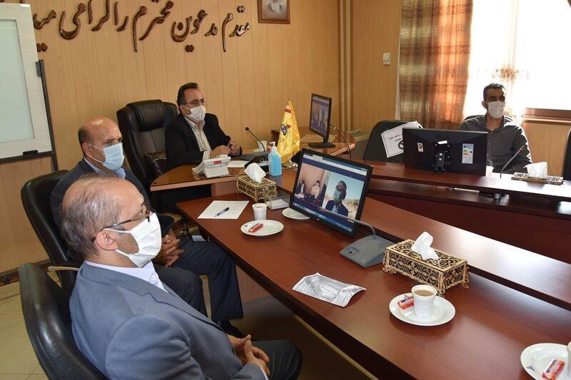 شروع عملیات اجرایی و بهره برداری از 2 پروژه گازرسانی گلستان