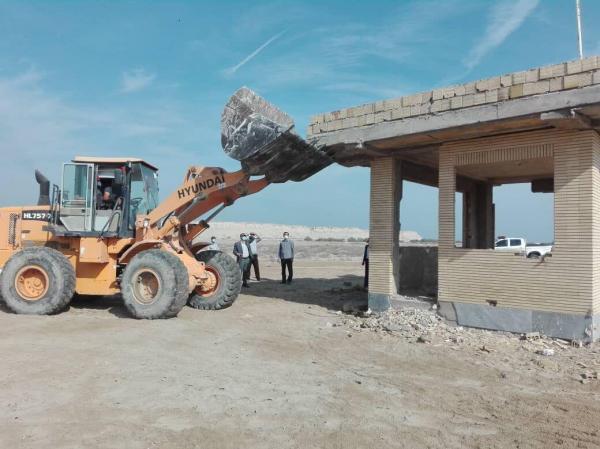خبرنگاران 2 هزار و 815 مترمربع از اراضی ملی قشم برطرف تصرف شد