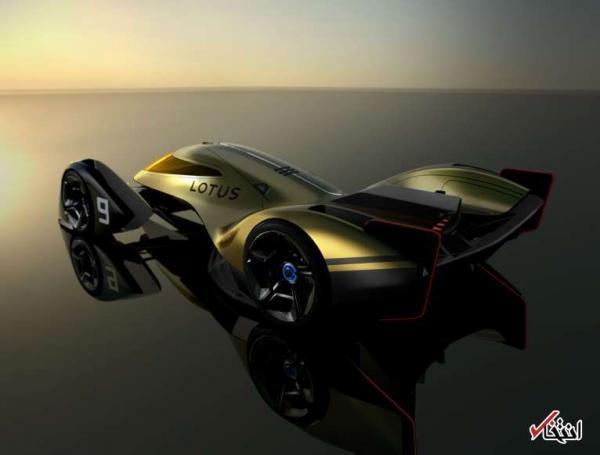 طراحی جدید خودروی لوتوس برای سال 2030