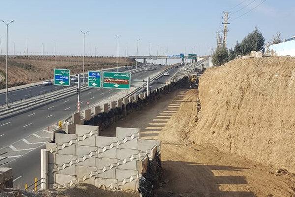 پیشرفت عملیات اجرایی مسیرهای دسترسی به شهرک الهیه و خیابان کرمانشاه به مرز 95 درصد رسید