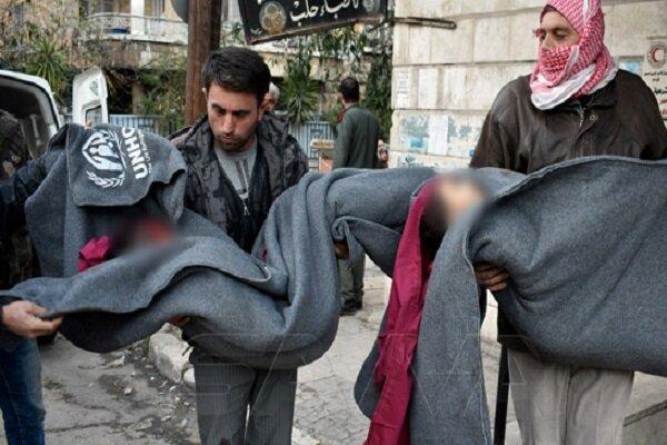 کشته و زخمی شدن 10 شهروند سوری در حمله تروریستها به شمال حلب