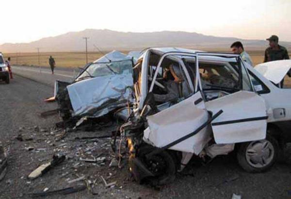 چهار کشته در تصادف خودرو در سپیدان فارس