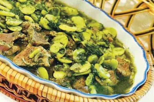 غذایی به سبزی بهار