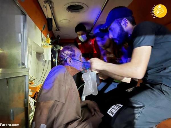 (تصاویر) فاجعه در بیمارستان ویژه بیماران کرونا در بغداد