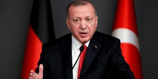 اردوغان: اظهارات بایدن درباره وقایع 1915، بار اضافه ای بر روابط دوجانبه بود