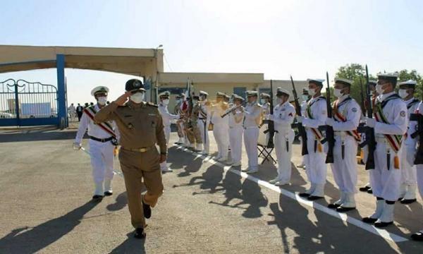 بازدید جانشین فرمانده نیروی دریایی ارتش از پایگاه دریایی شهدای تکاور