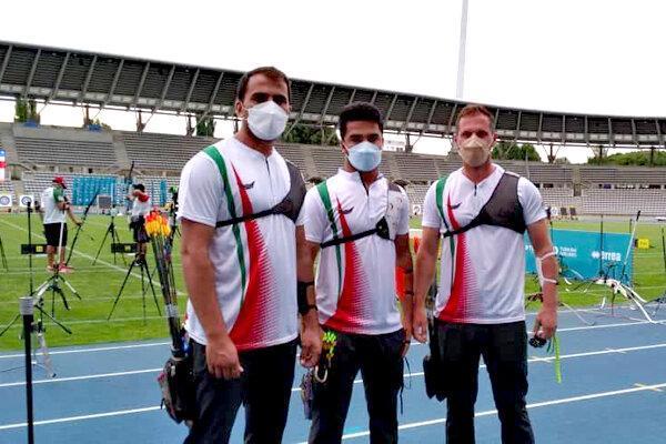 تیم ریکرو مردان ایران به مرحله حذفی صعود کرد