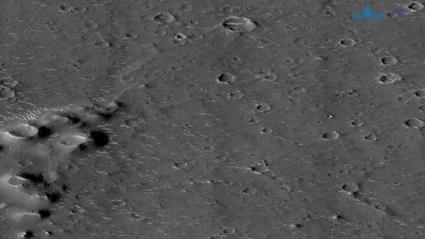 تصویر نو ثبت شده از مریخ به وسیله یک کاوشگر چینی
